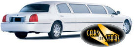 Limo Hire Baxley - Cars for Stars (Wolverhampton) offering white, silver, black and vanilla white limos for hire